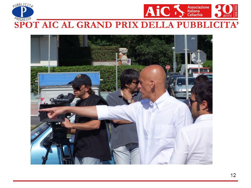 SPOT AIC AL GRAND PRIX DELLA PUBBLICITA'