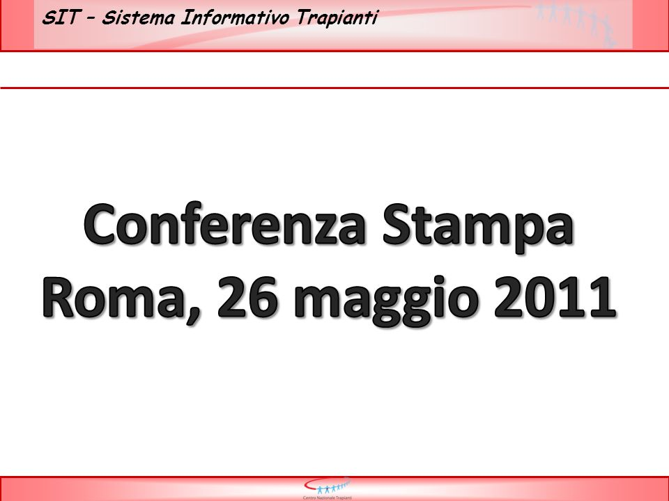 Conferenza Stampa Roma, 26 maggio 2011