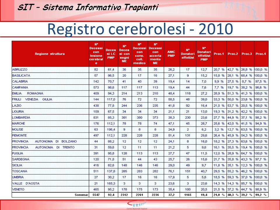 Registro cerebrolesi
