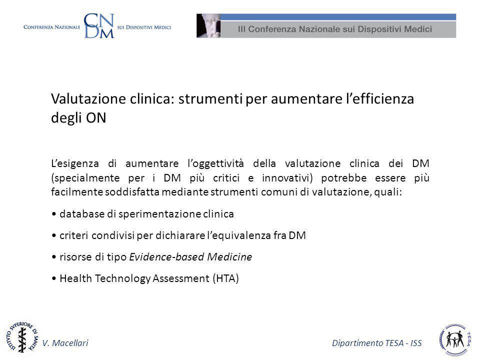 Valutazione clinica: strumenti per aumentare l'efficienza degli ON