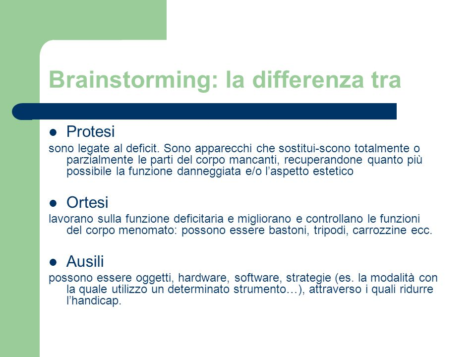 Brainstorming: la differenza tra