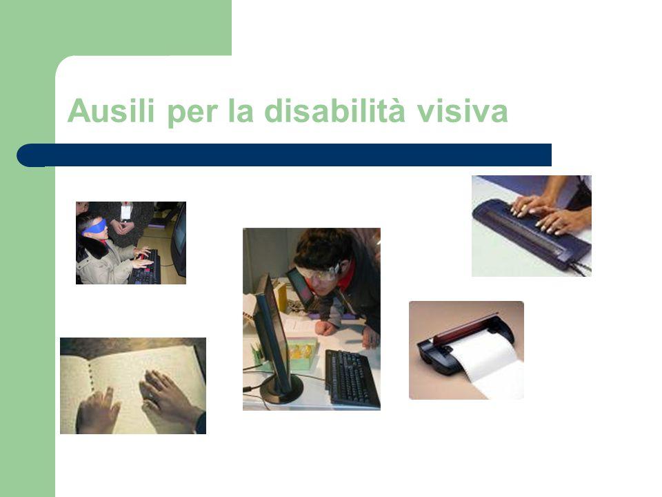 Ausili per la disabilità visiva