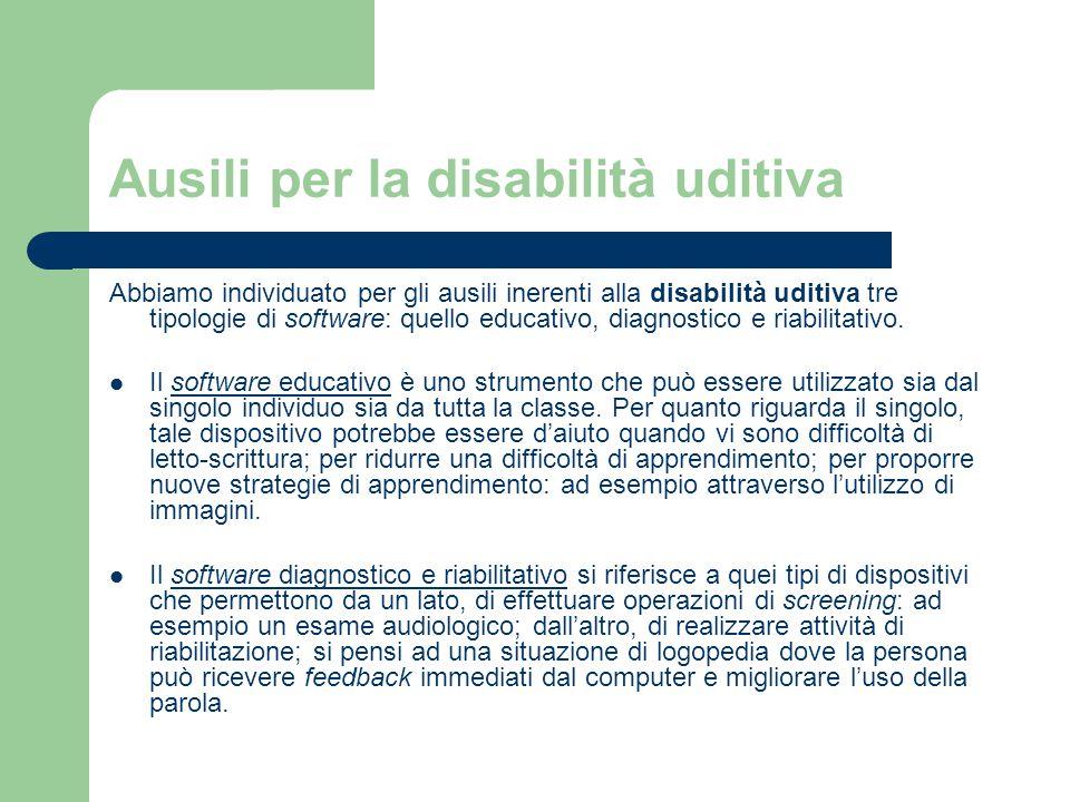 Ausili per la disabilità uditiva