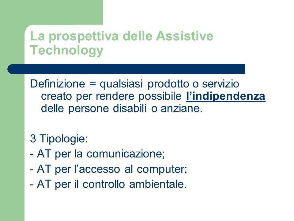 La prospettiva delle Assistive Technology