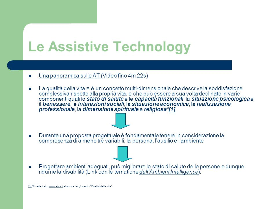 Le Assistive Technology