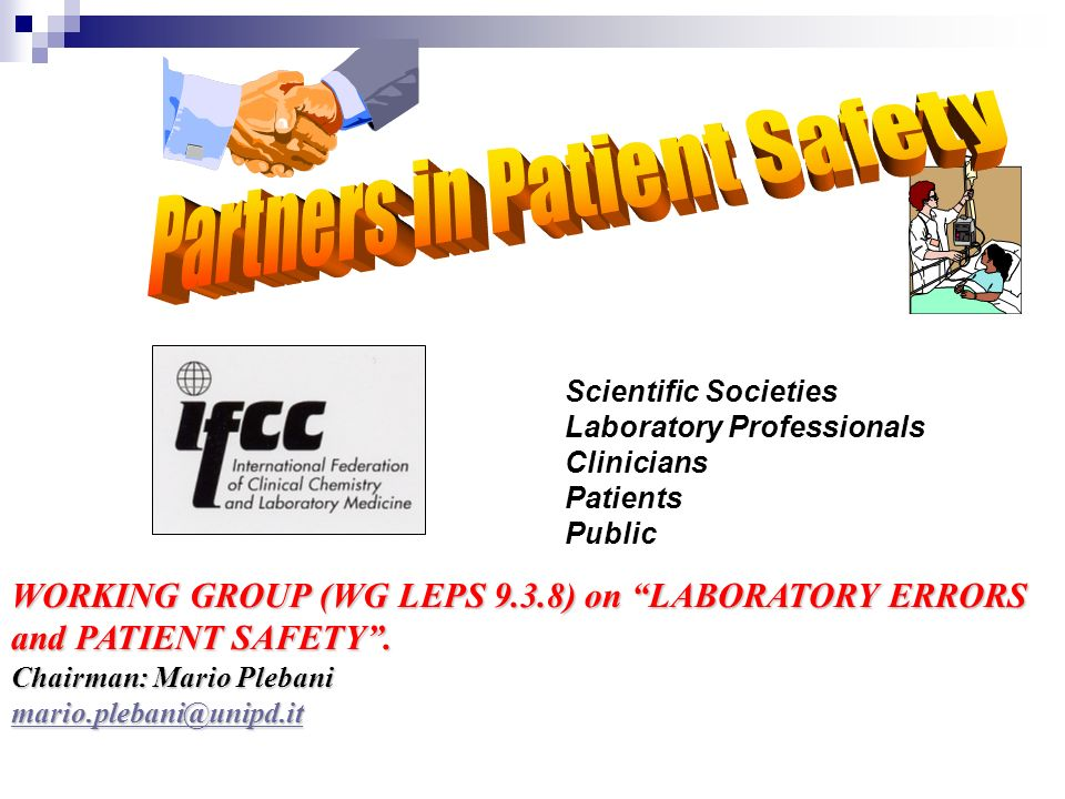 Partners in Patient Safety