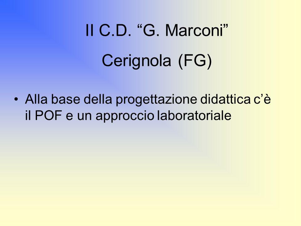 II C.D. G. Marconi Cerignola (FG)