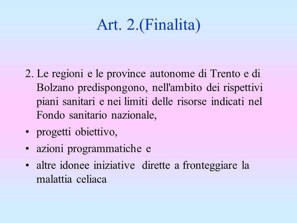 Art. 2.(Finalita)
