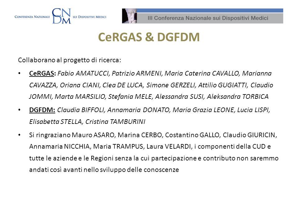 CeRGAS & DGFDM Collaborano al progetto di ricerca: