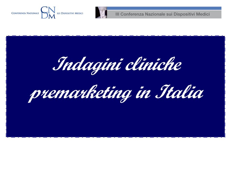 premarketing in Italia