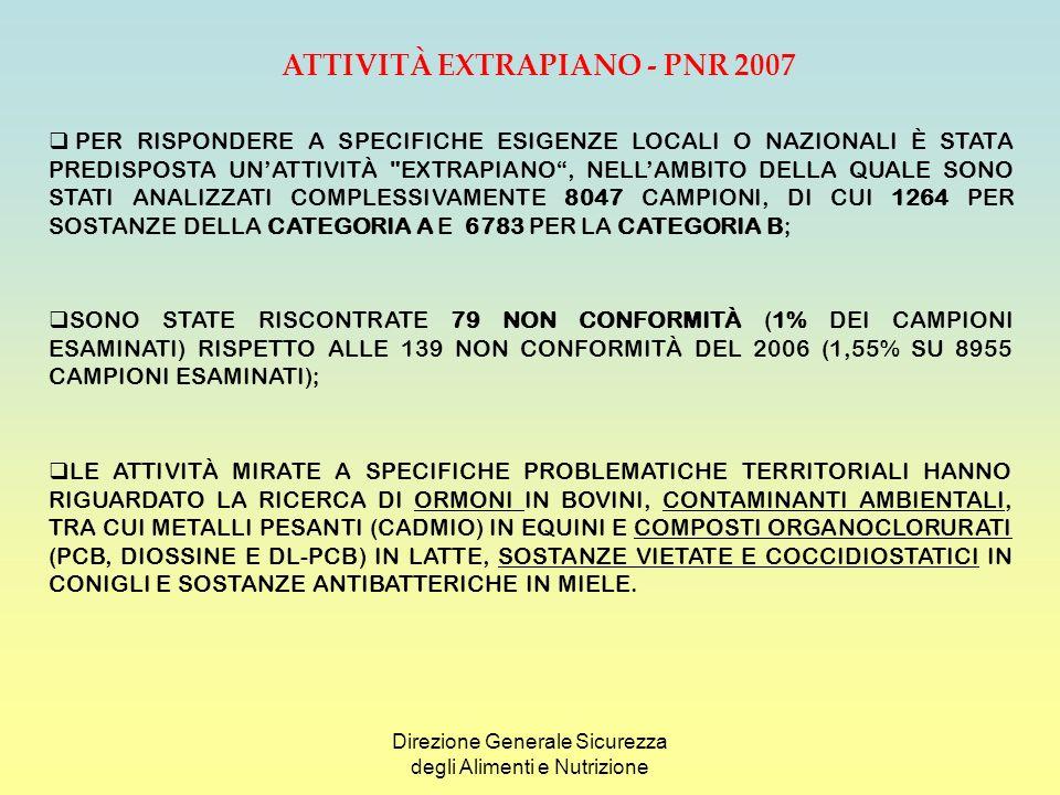 ATTIVITÀ EXTRAPIANO - PNR 2007