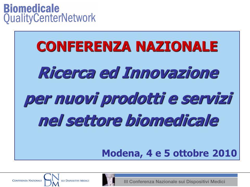 Ricerca ed Innovazione per nuovi prodotti e servizi