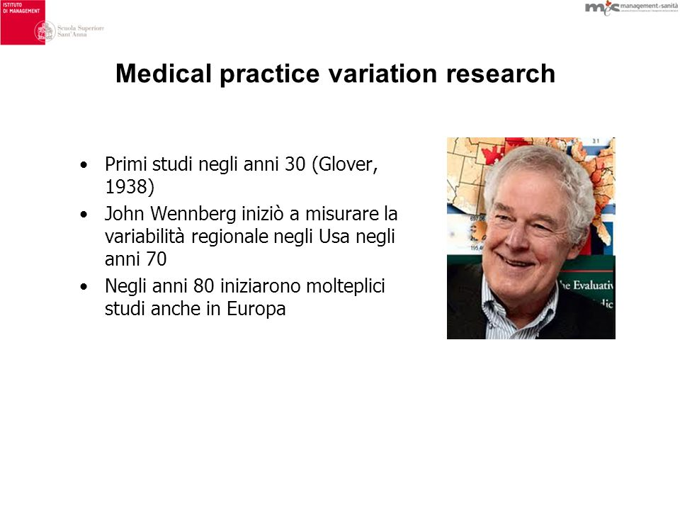Medical practice variation research