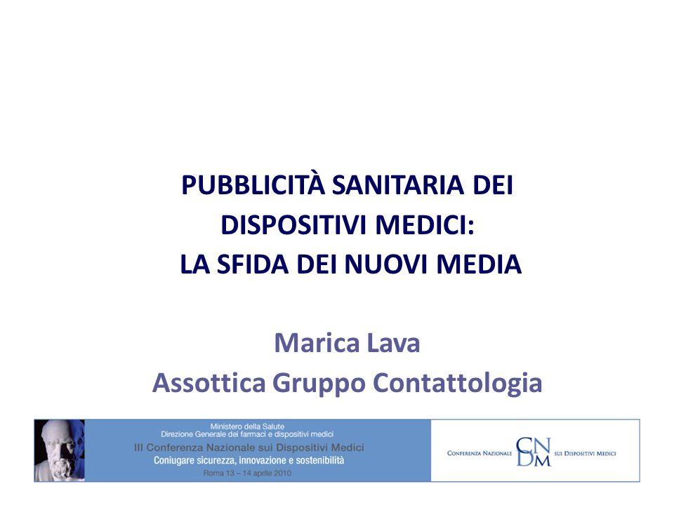 PUBBLICITÀ SANITARIA DEI DISPOSITIVI MEDICI: LA SFIDA DEI NUOVI MEDIA