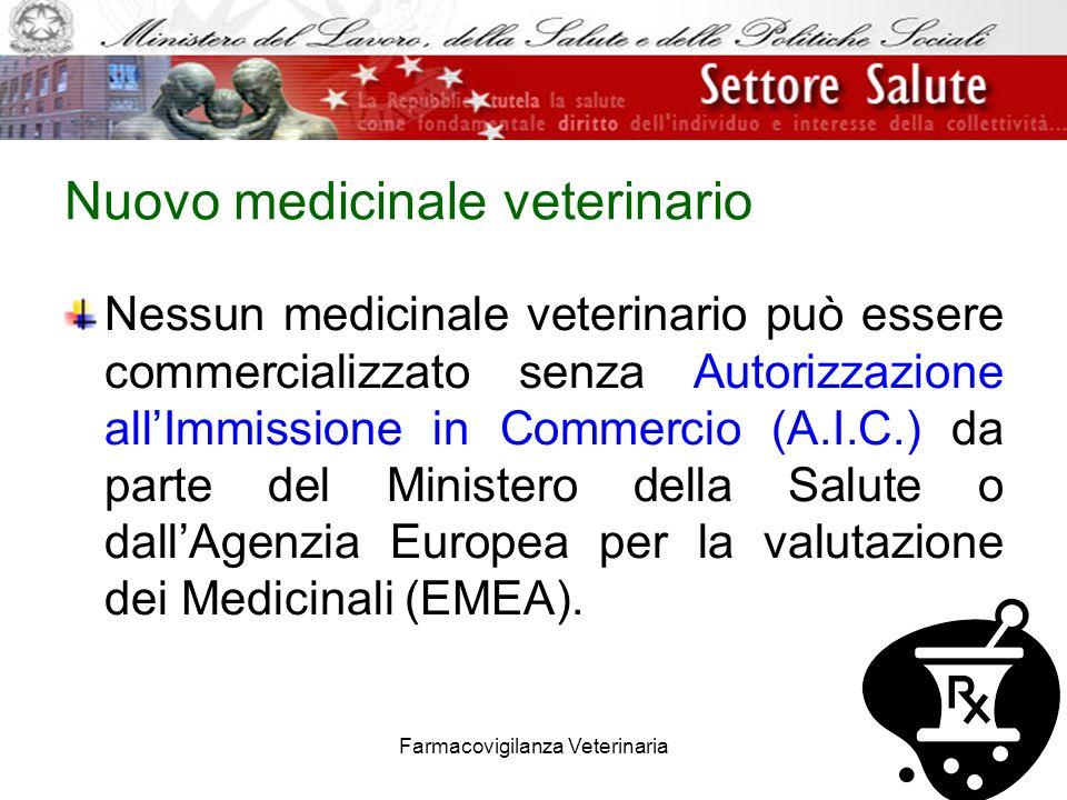 Nuovo medicinale veterinario