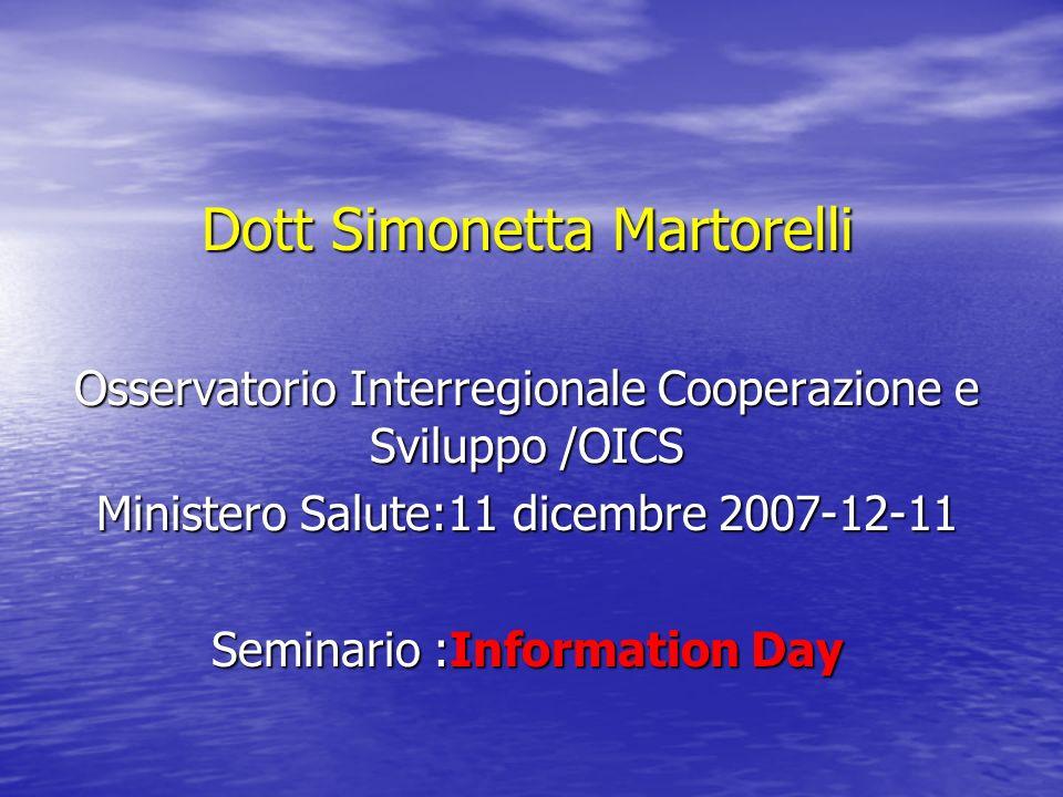 Dott Simonetta Martorelli