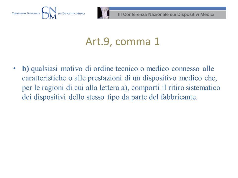 Art.9, comma 1