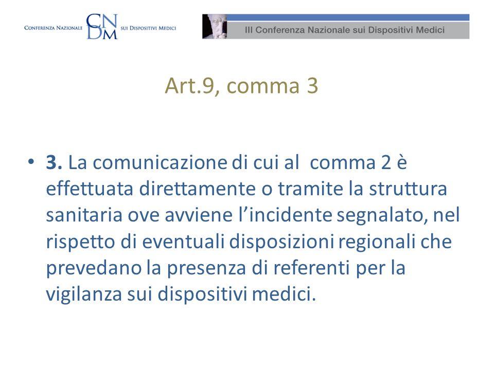 Art.9, comma 3