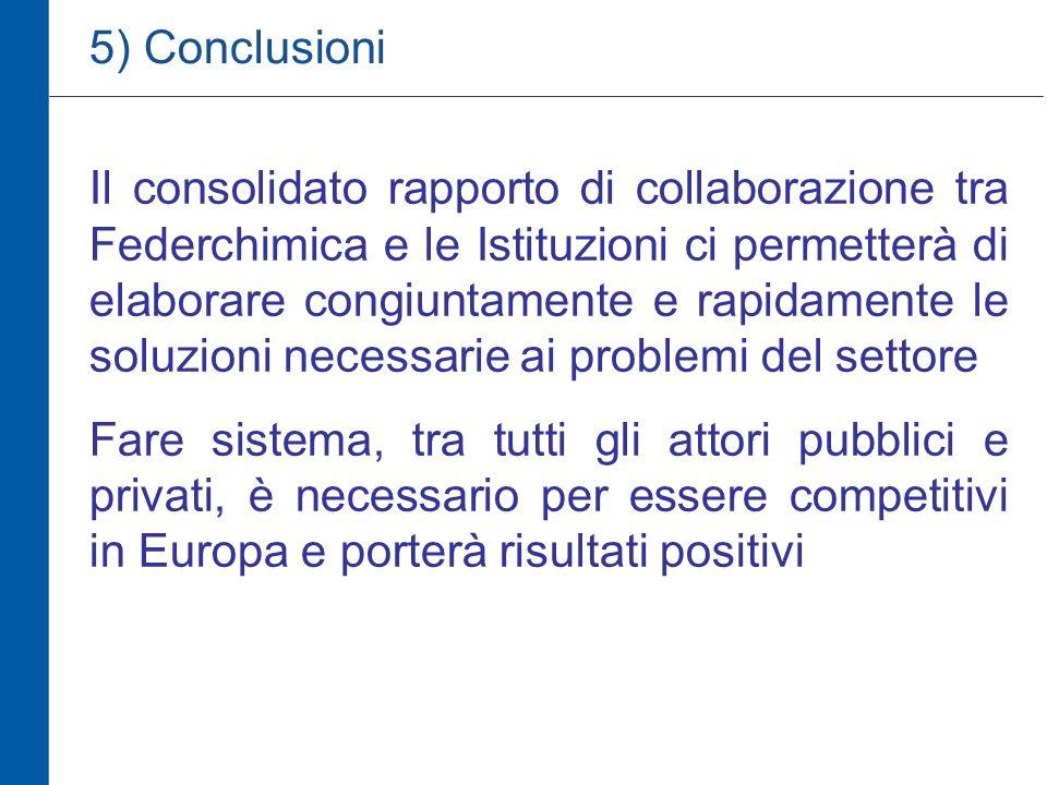5) Conclusioni