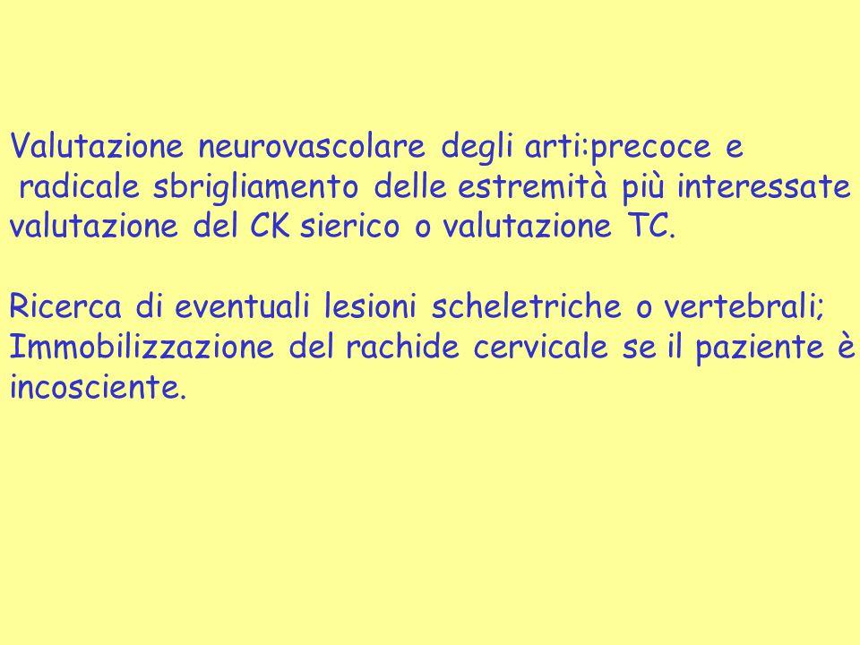 Valutazione neurovascolare degli arti:precoce e