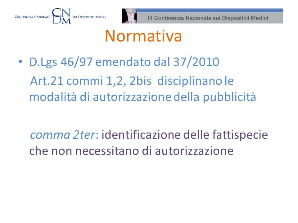 Normativa D.Lgs 46/97 emendato dal 37/2010