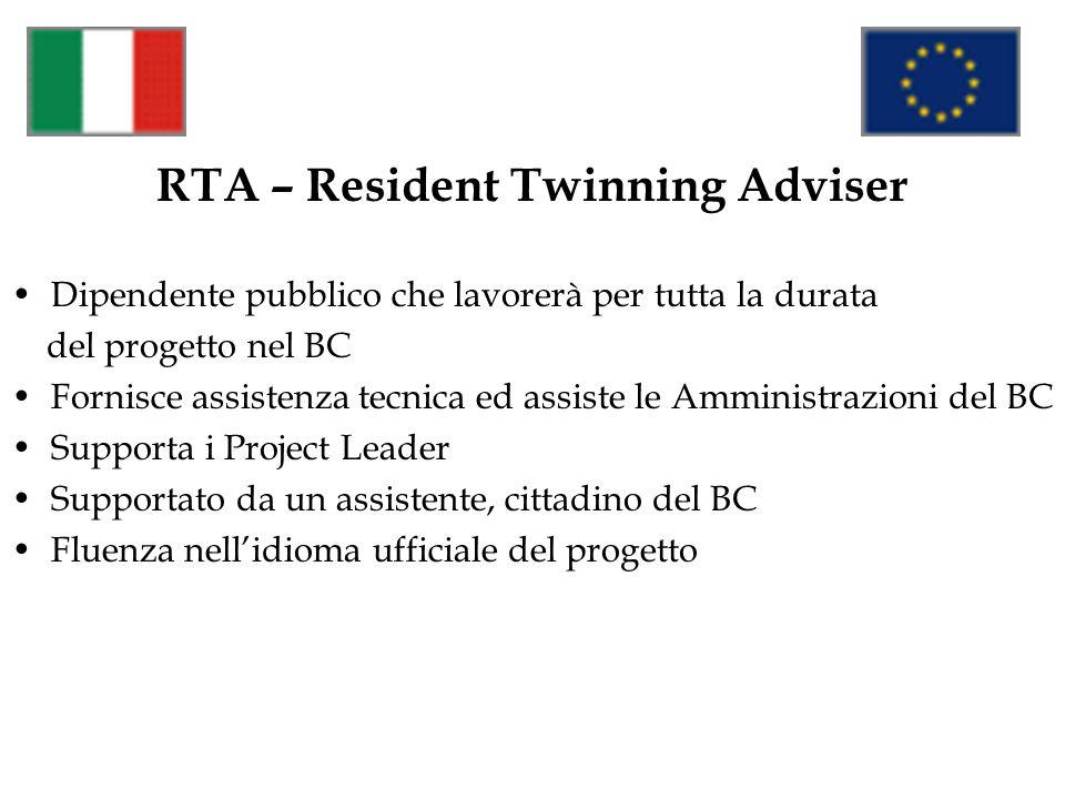 RTA – Resident Twinning Adviser