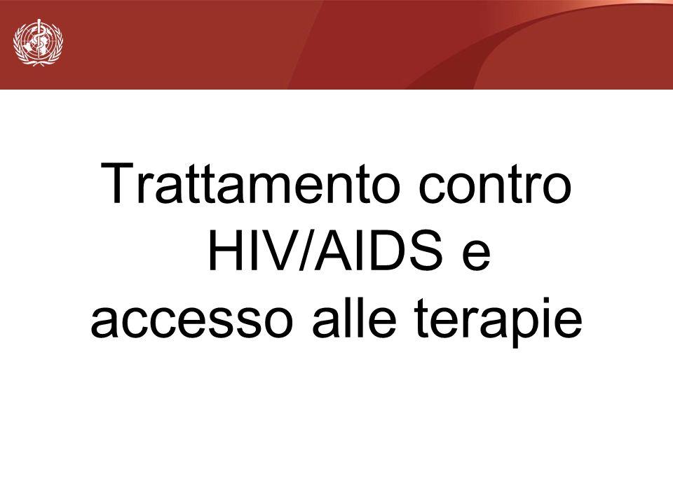Trattamento contro HIV/AIDS e