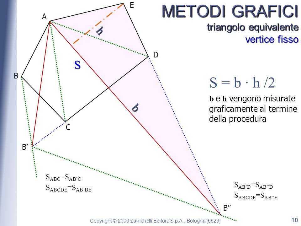 METODI GRAFICI triangolo equivalente vertice fisso