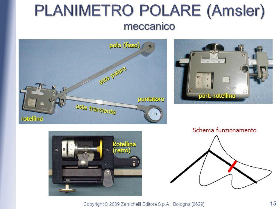 PLANIMETRO POLARE (Amsler) meccanico