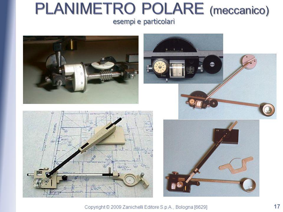 PLANIMETRO POLARE (meccanico)