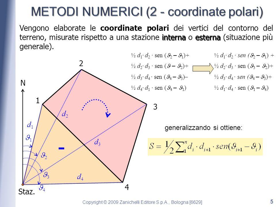 METODI NUMERICI (2 - coordinate polari)