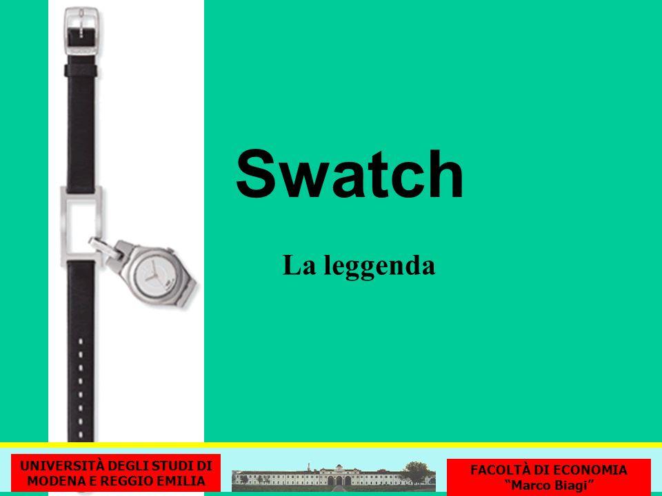 Swatch La leggenda UNIVERSITÀ DEGLI STUDI DI MODENA E REGGIO EMILIA