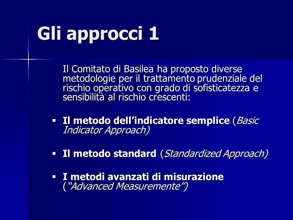 Gli approcci 1