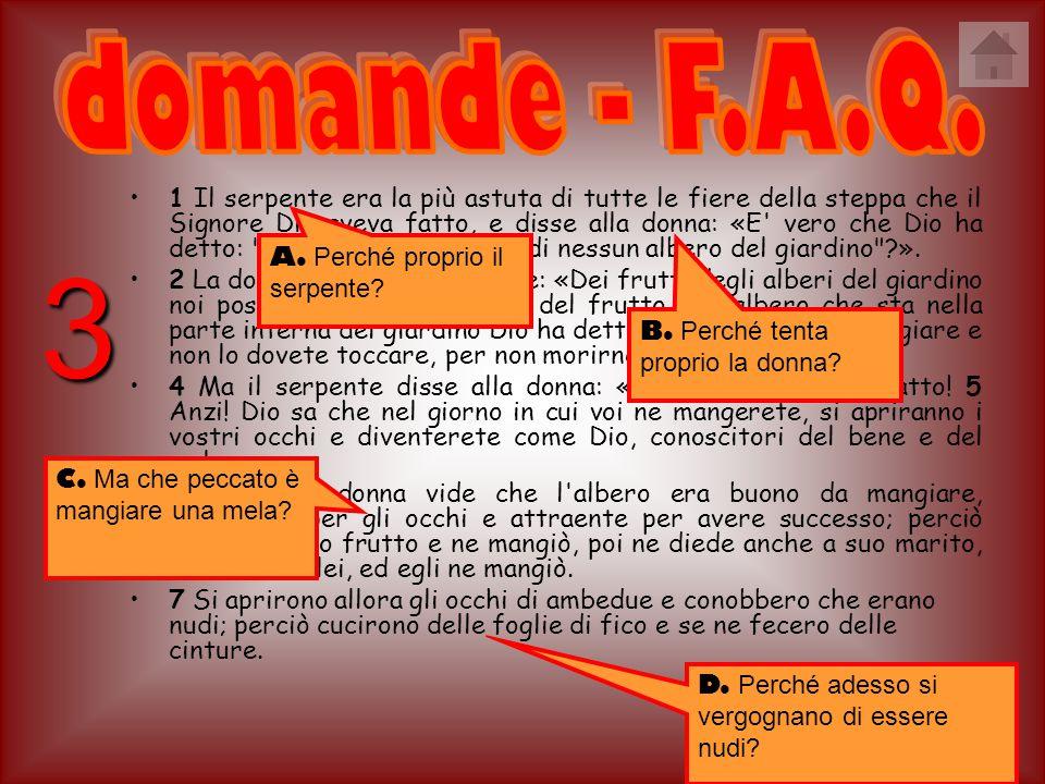 domande - F.A.Q.