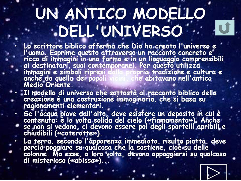 UN ANTICO MODELLO DELL UNIVERSO