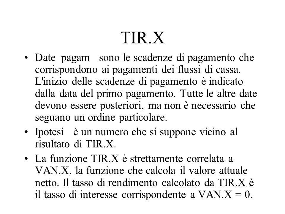 TIR.X