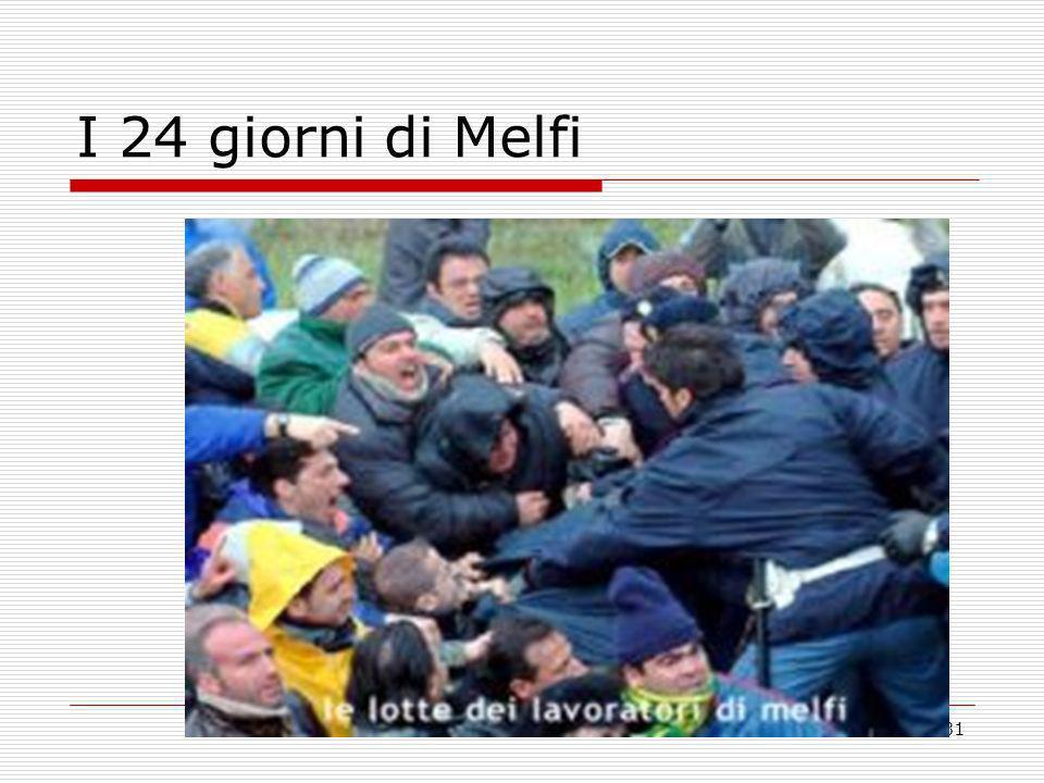 I 24 giorni di Melfi