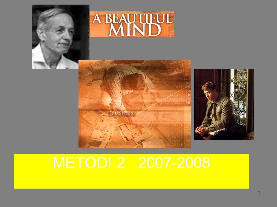 METODI 2 2007-2008