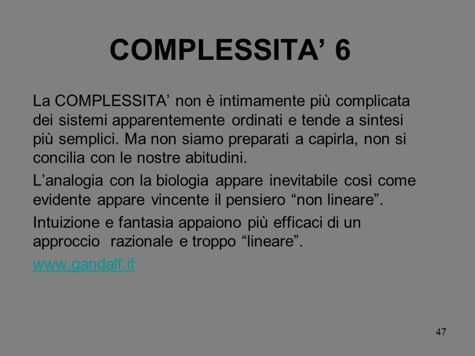COMPLESSITA' 6