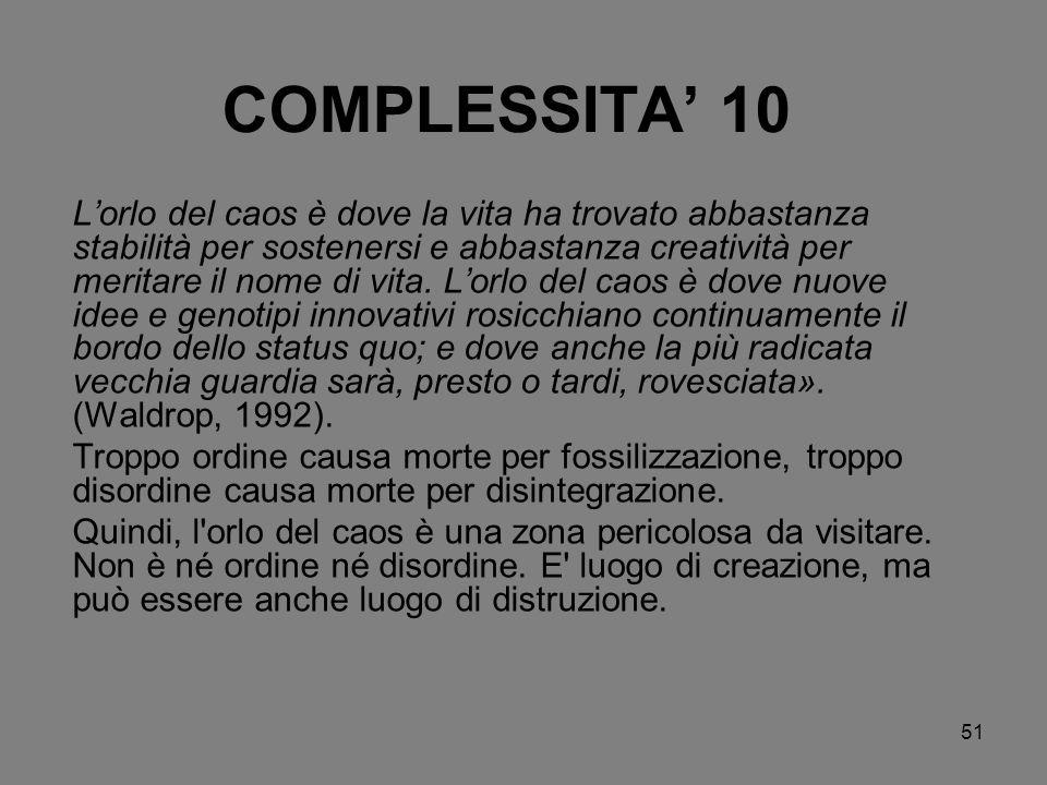 COMPLESSITA' 10