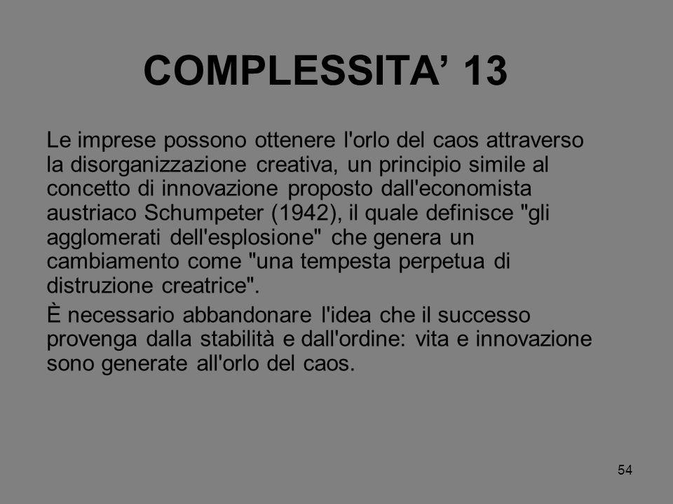 COMPLESSITA' 13