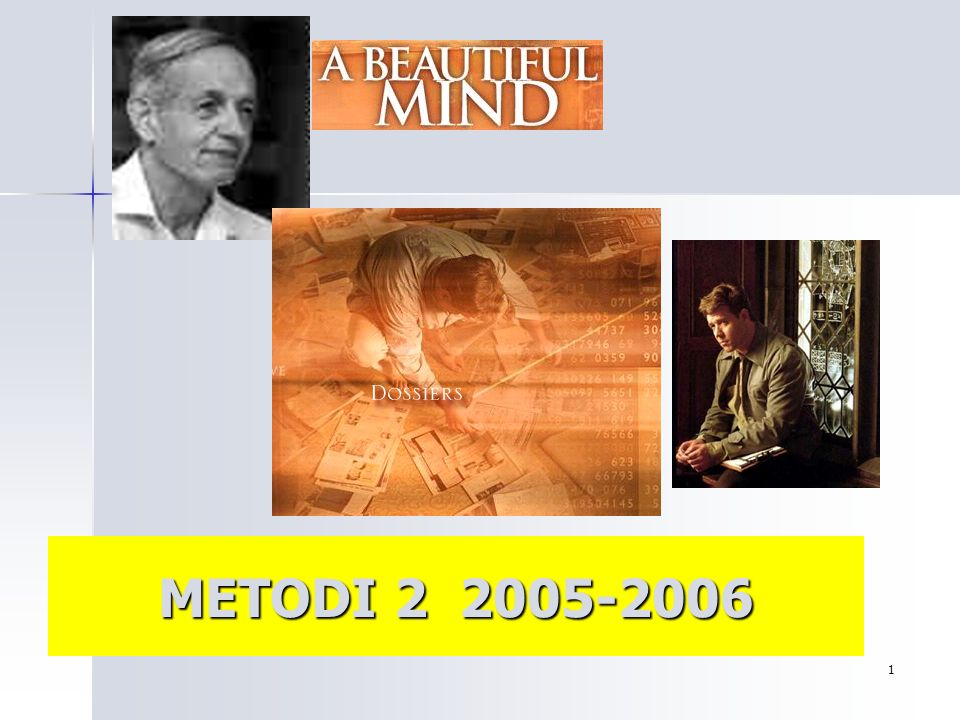 METODI 2 2005-2006