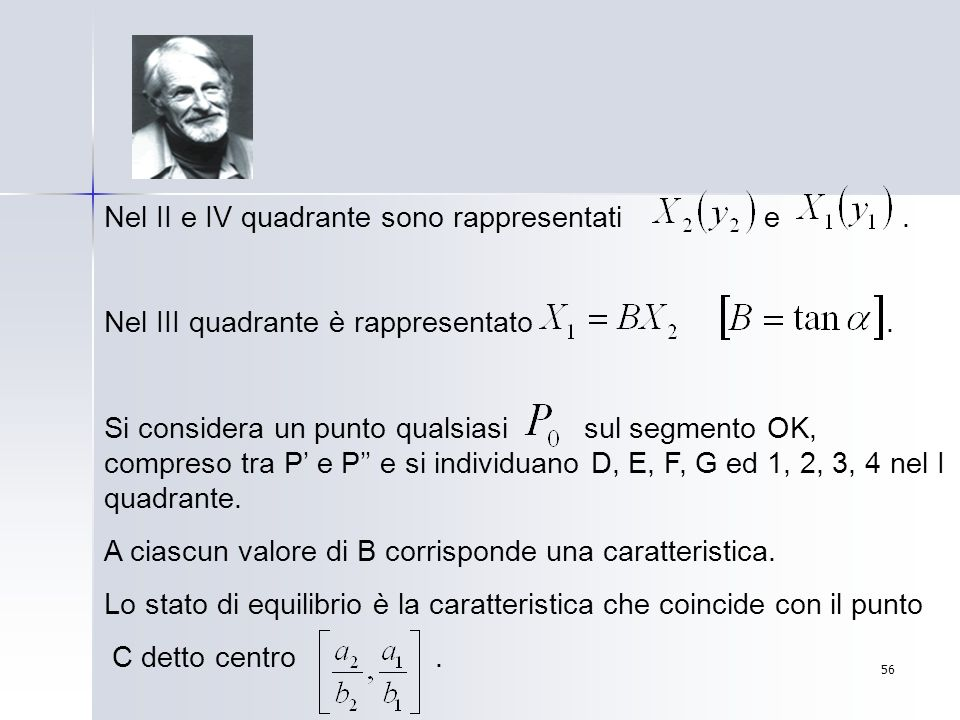Nel II e IV quadrante sono rappresentati e .