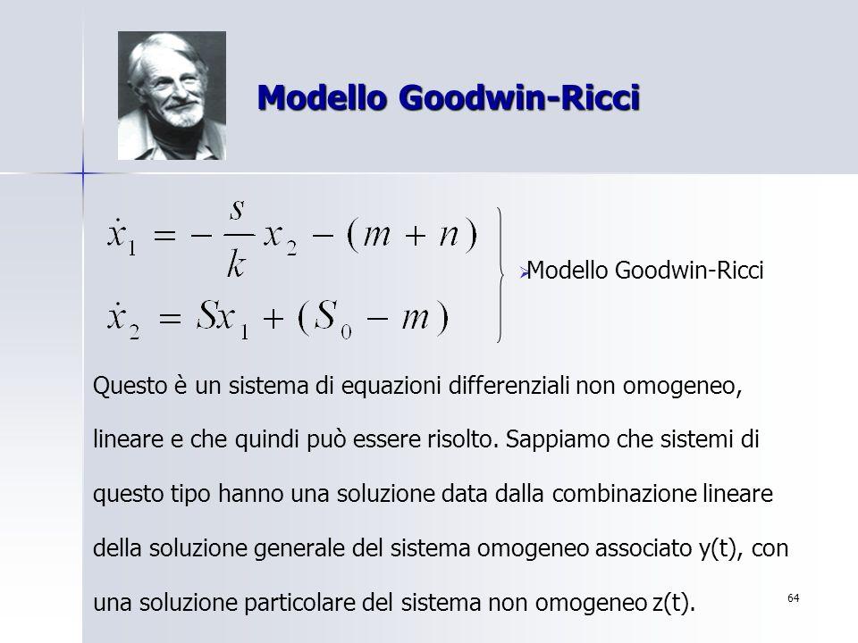 Modello Goodwin-Ricci