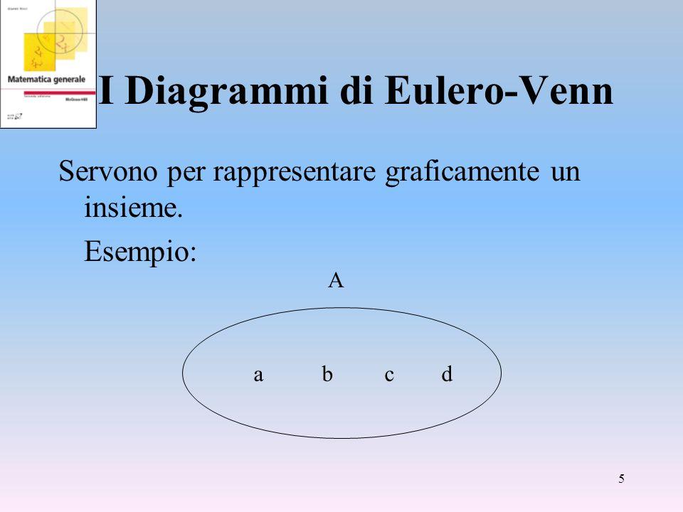I Diagrammi di Eulero-Venn