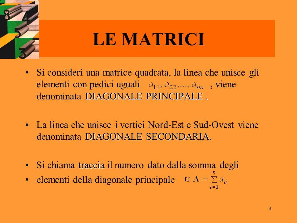 LE MATRICI