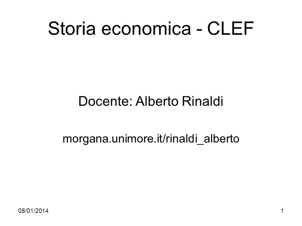 Storia economica - CLEF
