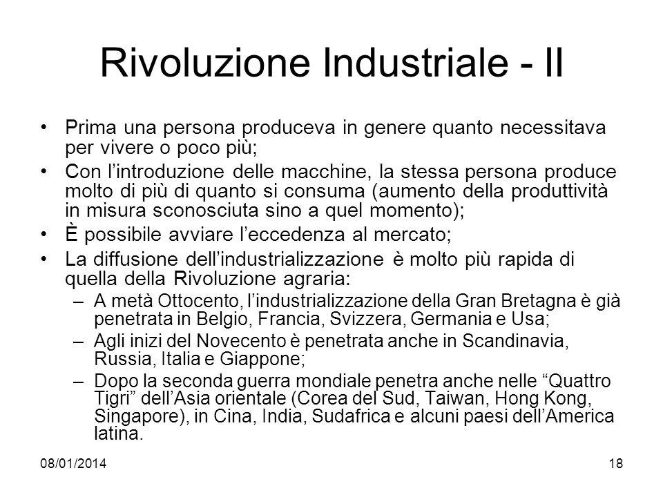 Rivoluzione Industriale - II