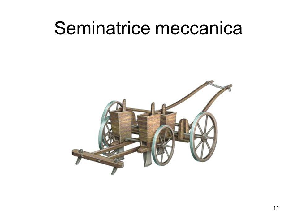 Seminatrice meccanica