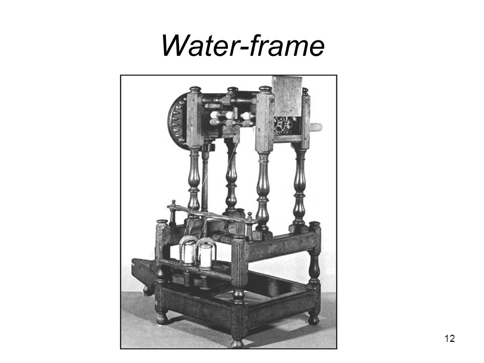 Water-frame